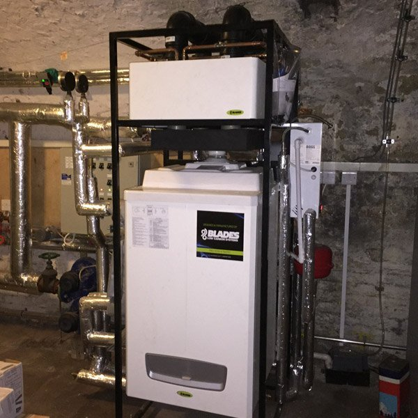 Devizes Town Hall Blades Boiler system installed by SMARTech Heating