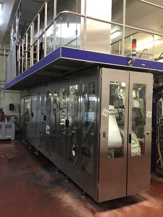 Tetra Pak Filling Machines Being Monitored
